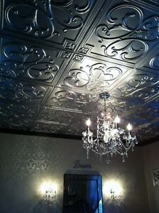 Styrofoam/PVC Ceiling Tiles, 3D Wall Panels, 1-day DYI by Taliss
