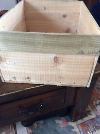 Wooden Crate for display/storage etc.