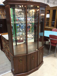 Glass Display Hutch