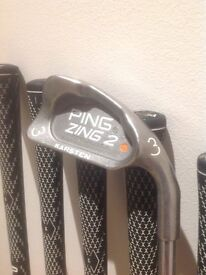 Ping Zing 2 Irons - Good Condition.
