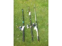 Second hand mackerel fishing setups.