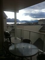 2 bed 2 bath condo 4th floor accross from the lake