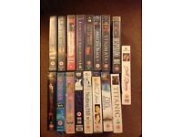 Assortment of vintage 12-18 certification videos VHS