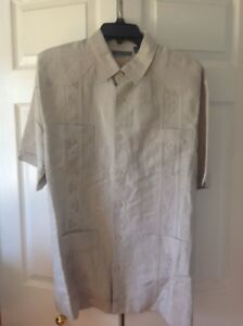 Men's Destination Wedding Short Sleeve Beach Shirt