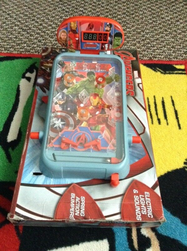 Avengers pinball game