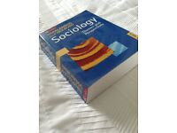 Sociology textbook by Haralambos and Holborn - fifth edition