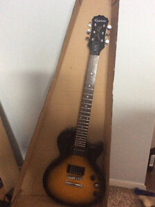 Gibson Les Paul Sunburst Guitar and Amp. Brand New