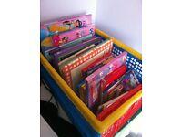Box full of children's /girls books joblot Car boot