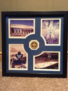 Toronto Maple Leafs framed photos and commemorative coin. Kitchener / Waterloo Kitchener Area image 1