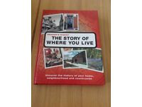 The Story of Where you Live Book