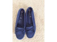 Blue Suede hush puppies