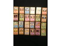 Pokemon base 1999 cards near complete common uncommon set