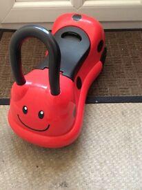 Ladybird ride on