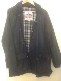 Wax Jacket Size Medium Unisex
