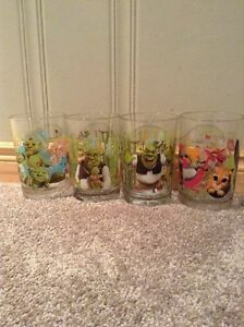 Shrek McDonald's glasses -four glasses Kitchener / Waterloo Kitchener Area image 1