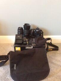 Nikon D3200 and gear