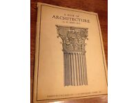 A Book of Architecture G.H. Reed M.A. ( Collectable )
