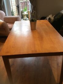 Heavy study solid dinning table