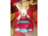ELC Rosie rabbit & car