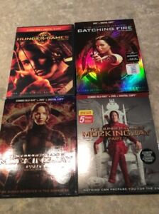 DVD et Blu-Ray The Hunger  Games