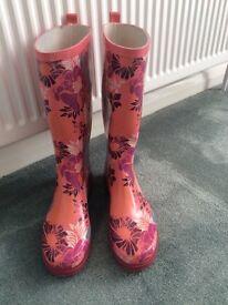 Ladies Wellington boots 'wellies' Mantaray at Debenhams