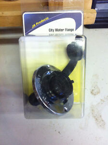 Chrome City Water Inlet Flange - 2 Available