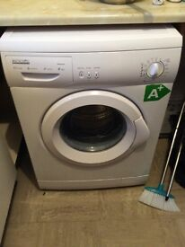 ProAction washing machine less then a year old