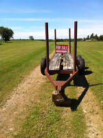 Wood trailer for sale
