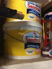 Sandtex maisonary paint 2x 10 litres