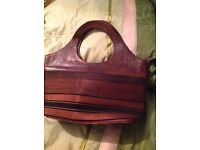 Hand Bag ( Moroccan) -Leather With Handles