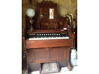 Old fashioned pedal organ