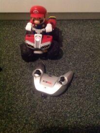 Mario remote control car