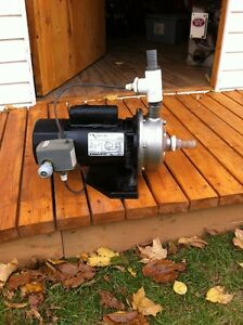 pompe stainless 1,5 hp