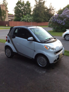 2010 Smart Car Passion ForTwo Convertible $7,000