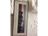 Framed New York skyline Picture