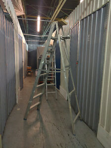 Folding Step Ladder 8' Foot Height