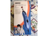 Wahl Nail Grinder and File Professional Filing Kit for dogs