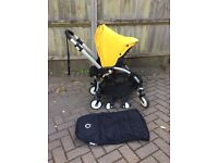 Bugaboo Bee Yellow Hood with Extras