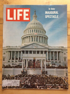 LIFE Magazine - January 29, 1965 - Inaugural Spectacle of LBJ