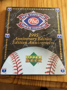 1995 Upper Deck Post Baseball (Moises Alou & Ken Hill included) West Island Greater Montréal image 1