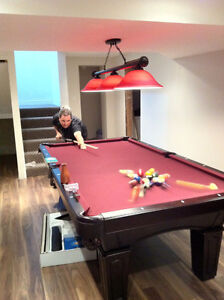 Olhausen Pool Table in Mint Condition
