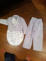 Toxedo blanc / costume d'halloween pour enfant