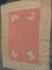Laura Ashley rug & bedcover