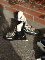 Older Lange hockey skates 8 1/2