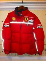 Michael Schumacher Scuderia Ferrari Winter Goose Down Jacket