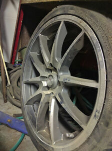 "17"" winter tire on Focal rim - 1 only"