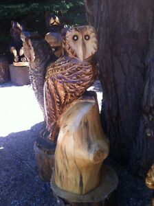TRADE YOUR 4X4 ATV FOR MY CHAINSAW CARVINGS! Peterborough Peterborough Area image 3