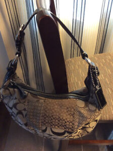 Authentic Coach Patchwork hobo purse