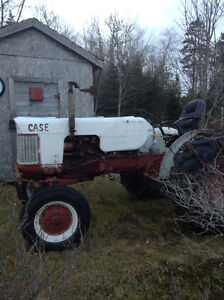 working farm tractor