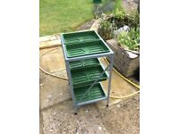 3 tier seed tray rack